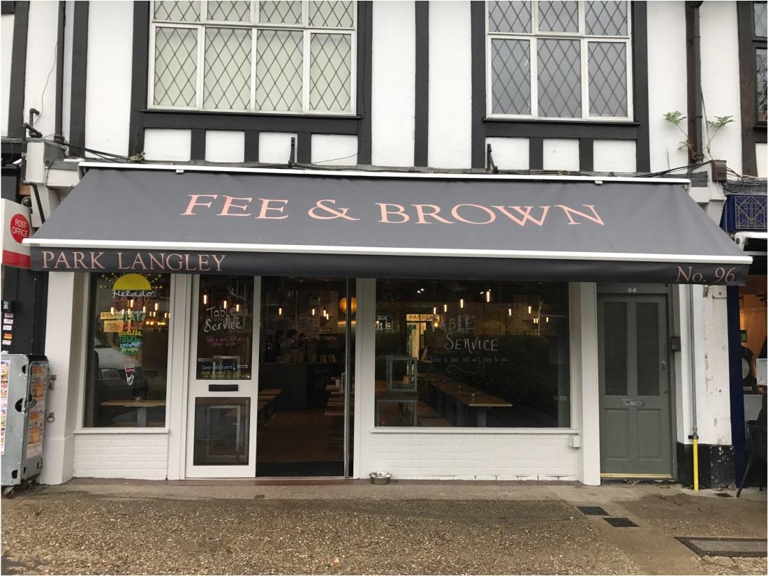 Awning recover Beckenham Kent 2