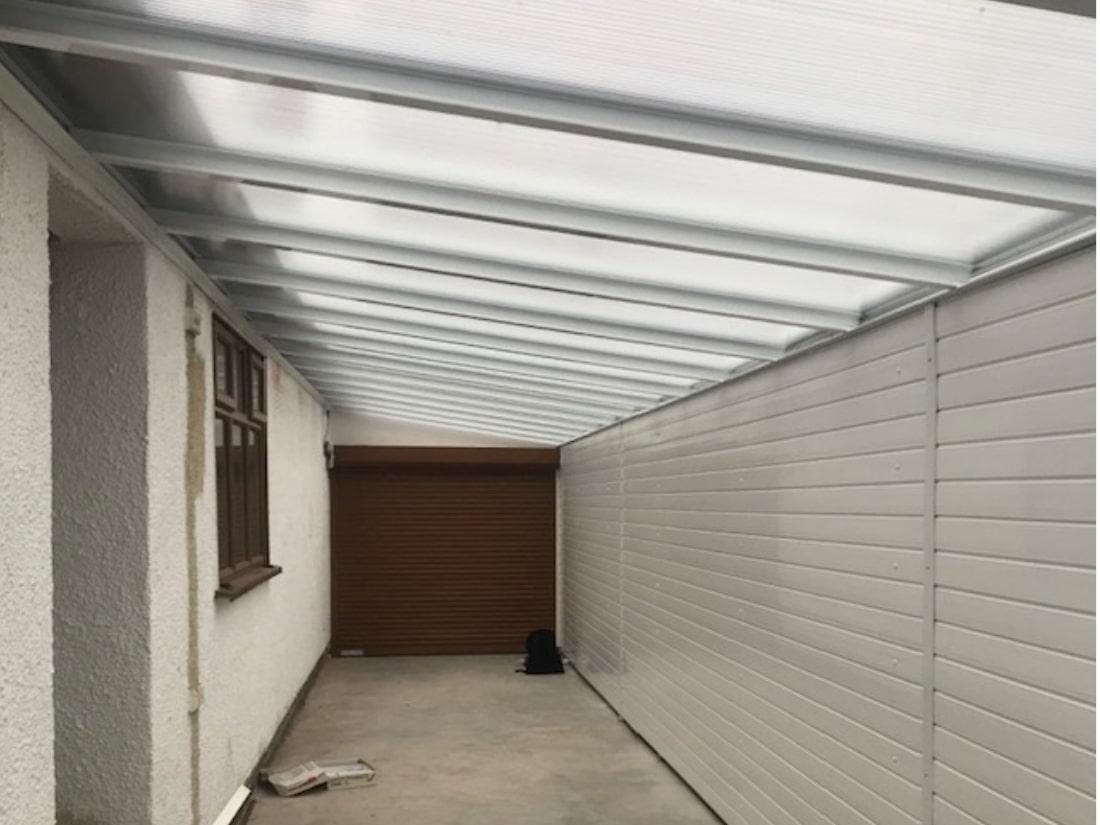 Carport Garage Door Hinkley Leicestershire