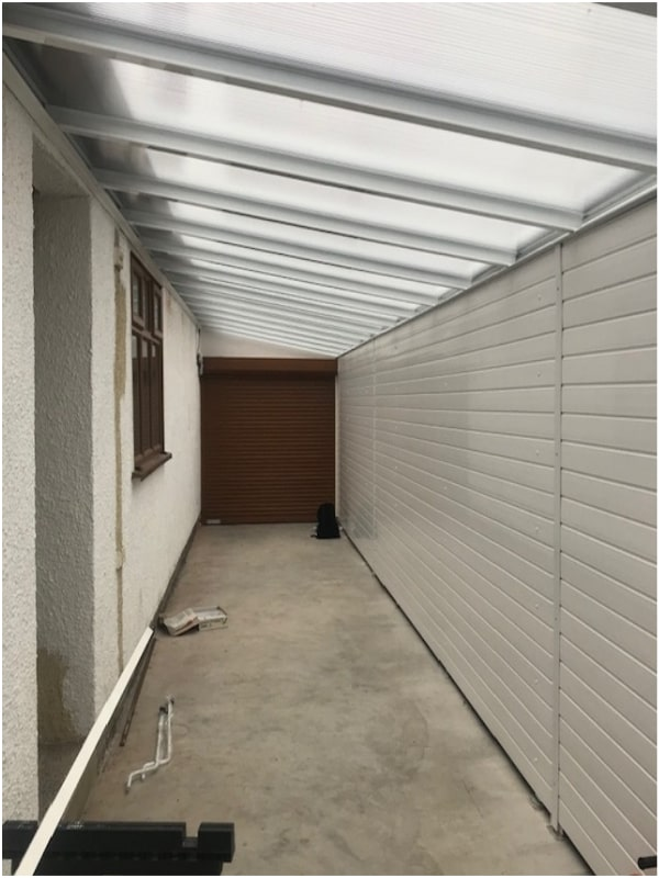 Carport Garage Door Hinkley Leicestershire