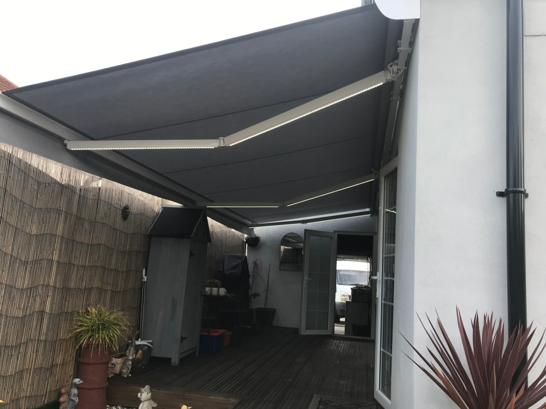 Image of house after awning install Hornchurch Essex