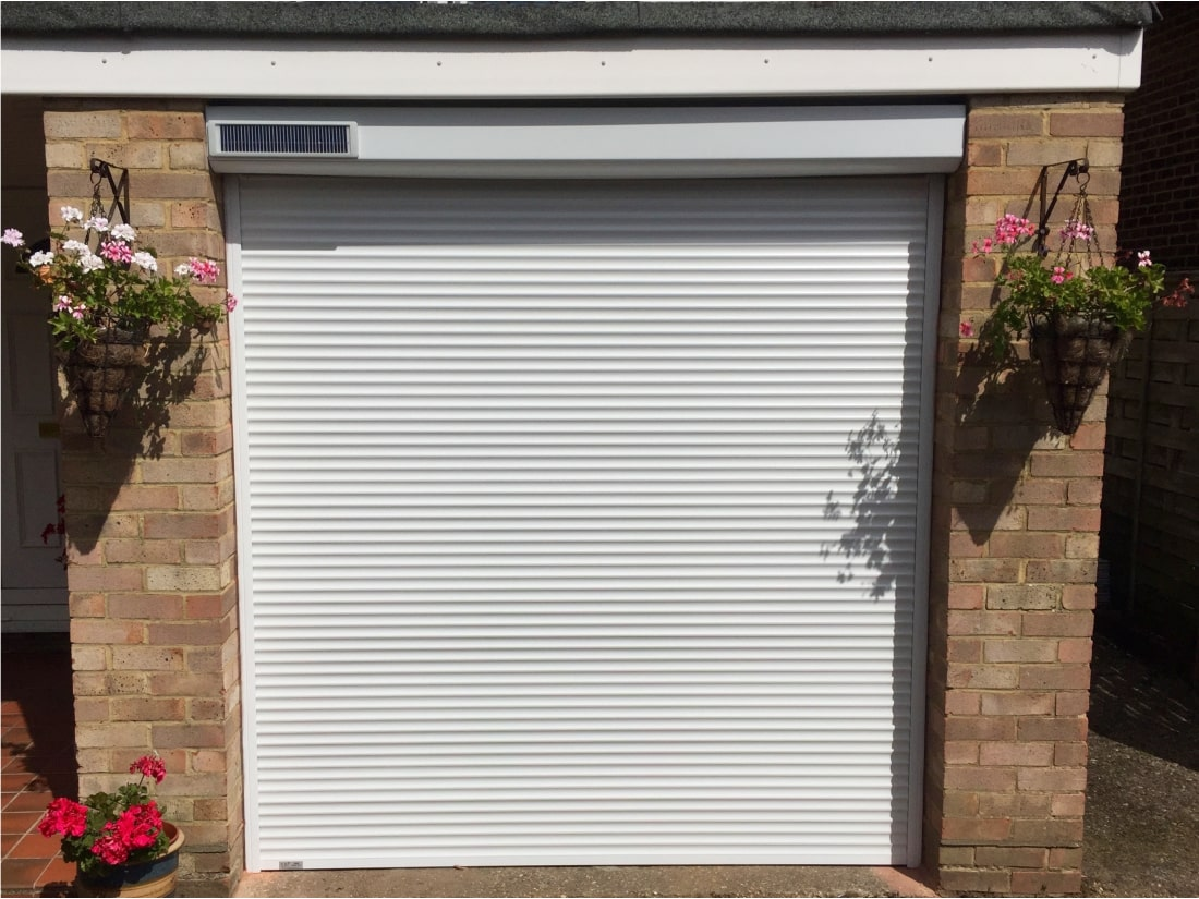 Solar Garage Door Windsor Berkshire after