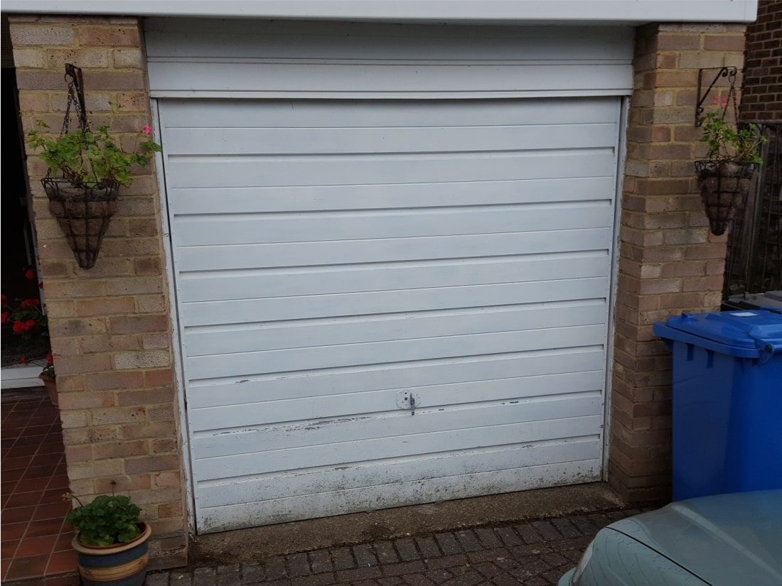 Solar Garage Door Windsor Berkshire Before