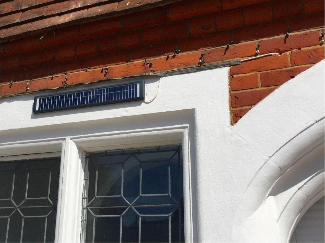 Solar Powered Security Shutter Sevenoaks Kent