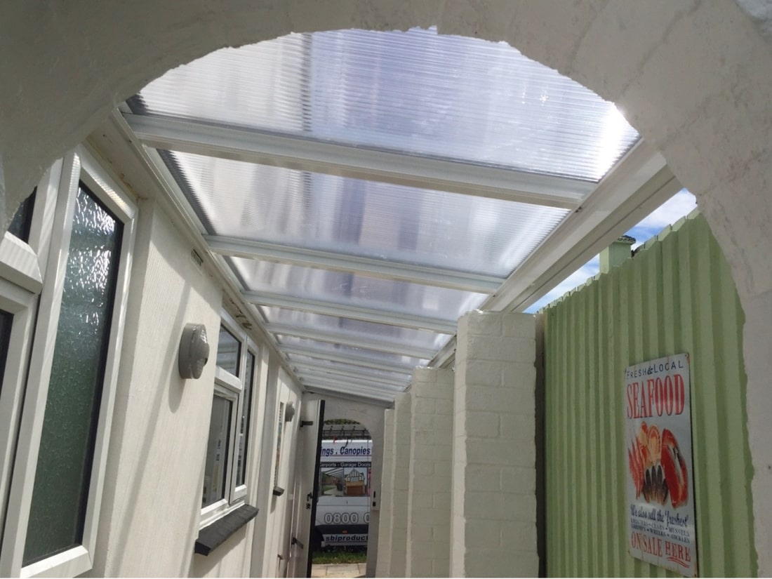 Walkway Canopy Broadstairs Kent