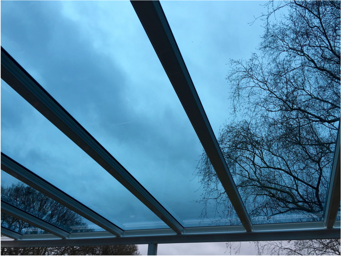 Blue Glass Veranda