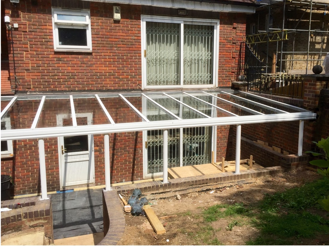 Wide Glass Veranda Forest HIll London
