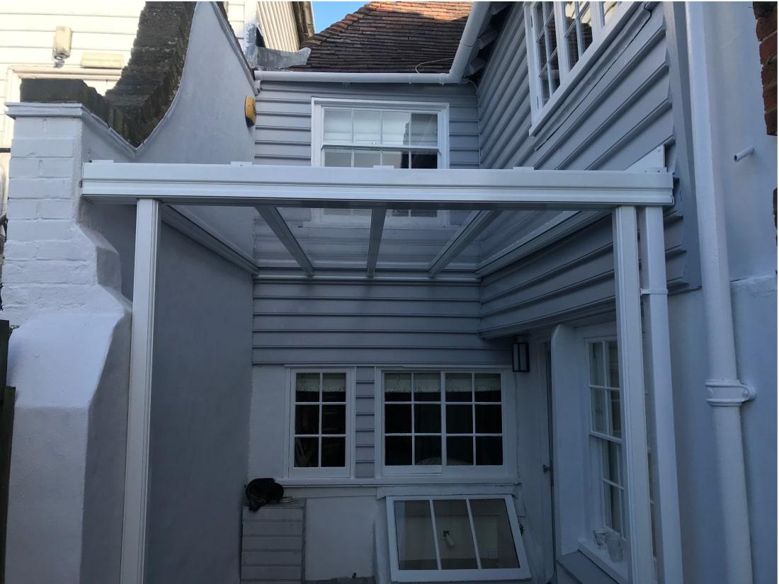 Patio Roof Veranda Faversham Kent