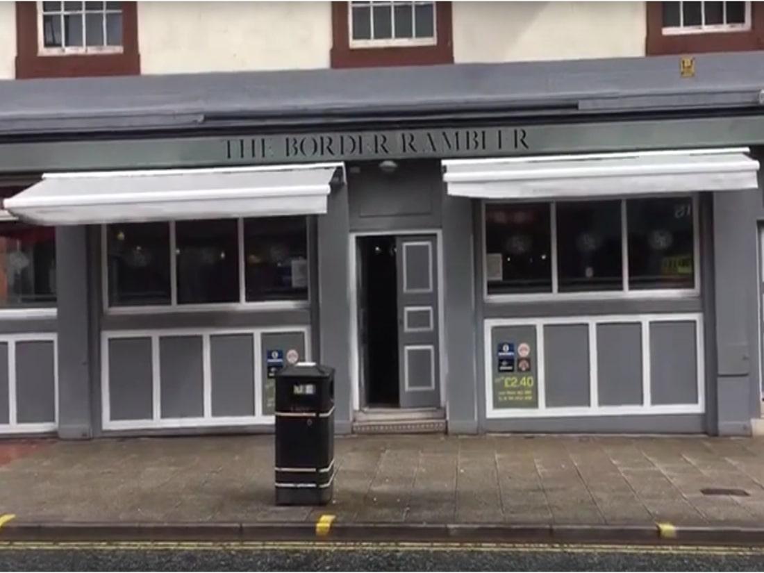 Pub Awning Botchergate Carlisle
