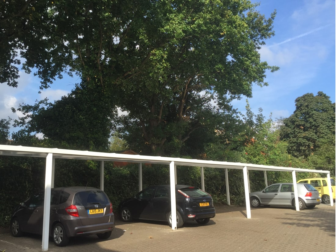 Carpark Carports Ottershaw Surrey