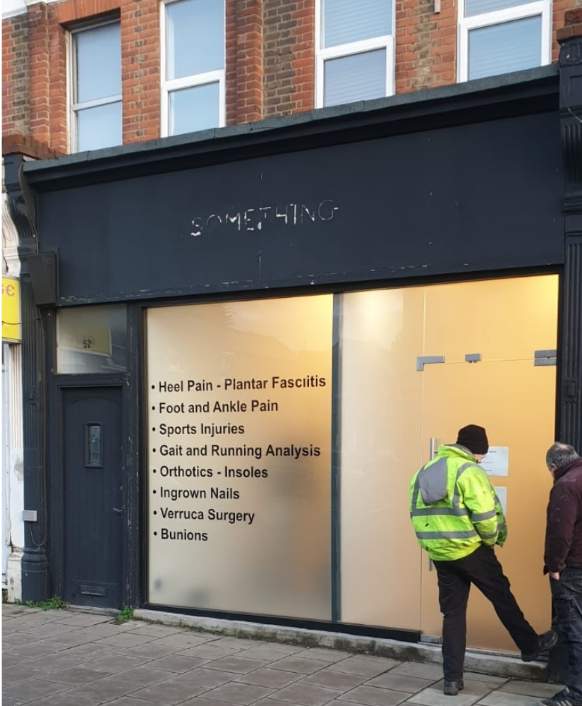 Steel Security Shutter Forest Hill London