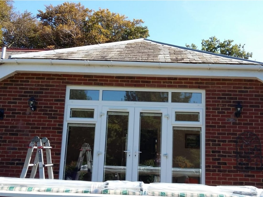 Remote Control Awning Before