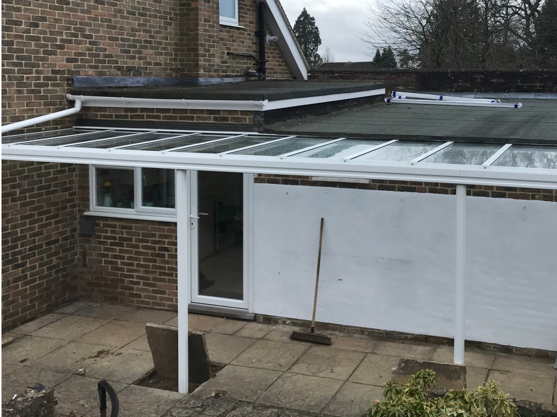 Glass Veranda Liphook Hampshire