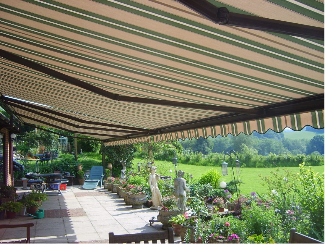 German Awnings Weinor K2000 Tunbridge Wells Kent