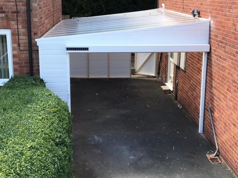 Garage Door and Carport