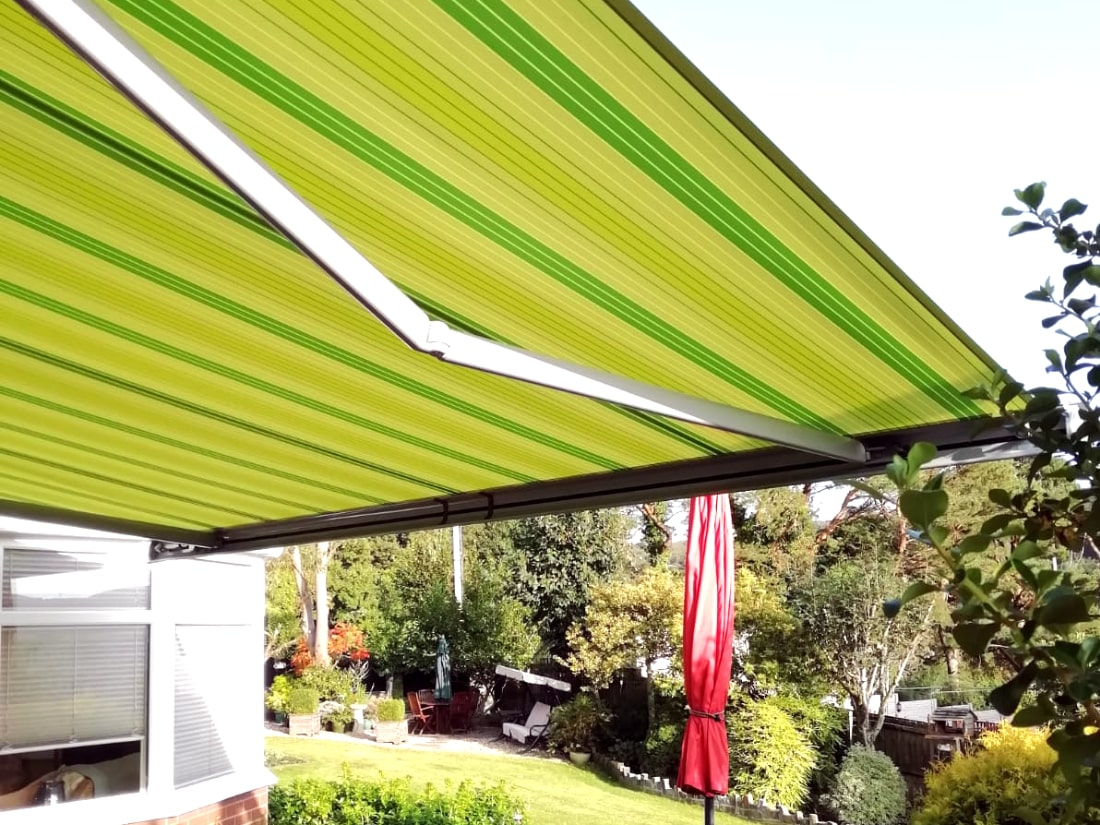 Markilux Model 6000 Awning installed in Wales