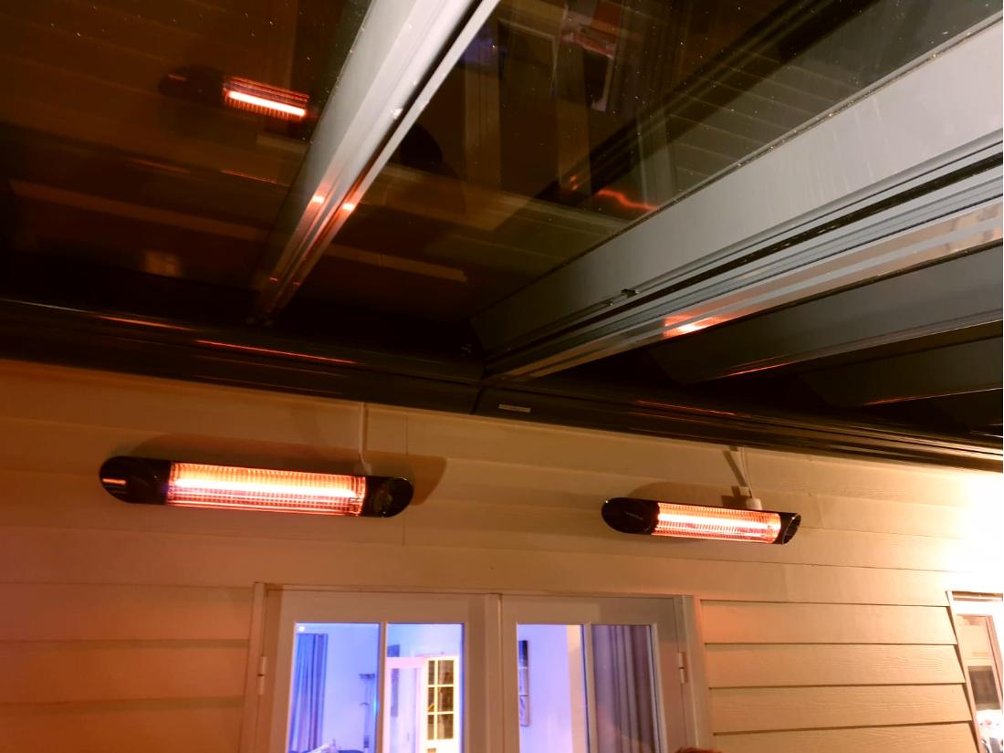 Glass Veranda and awnings