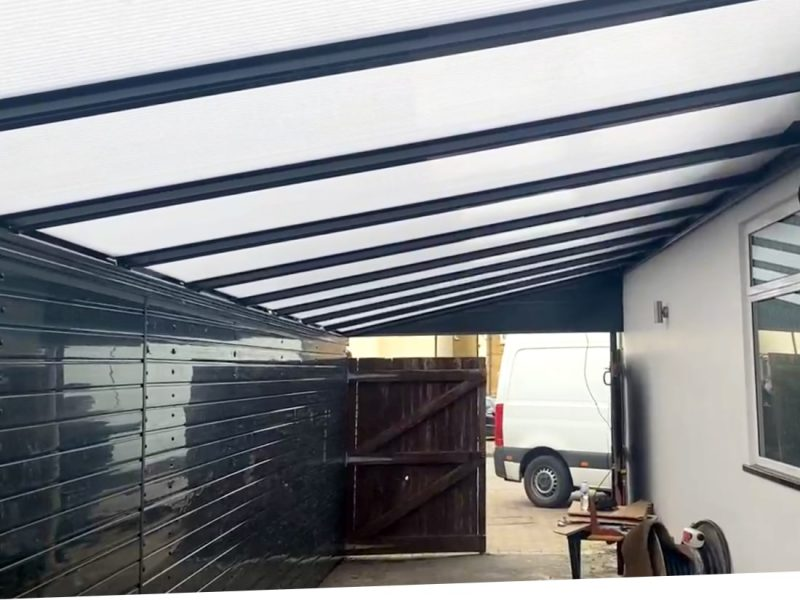 Carport and side infill