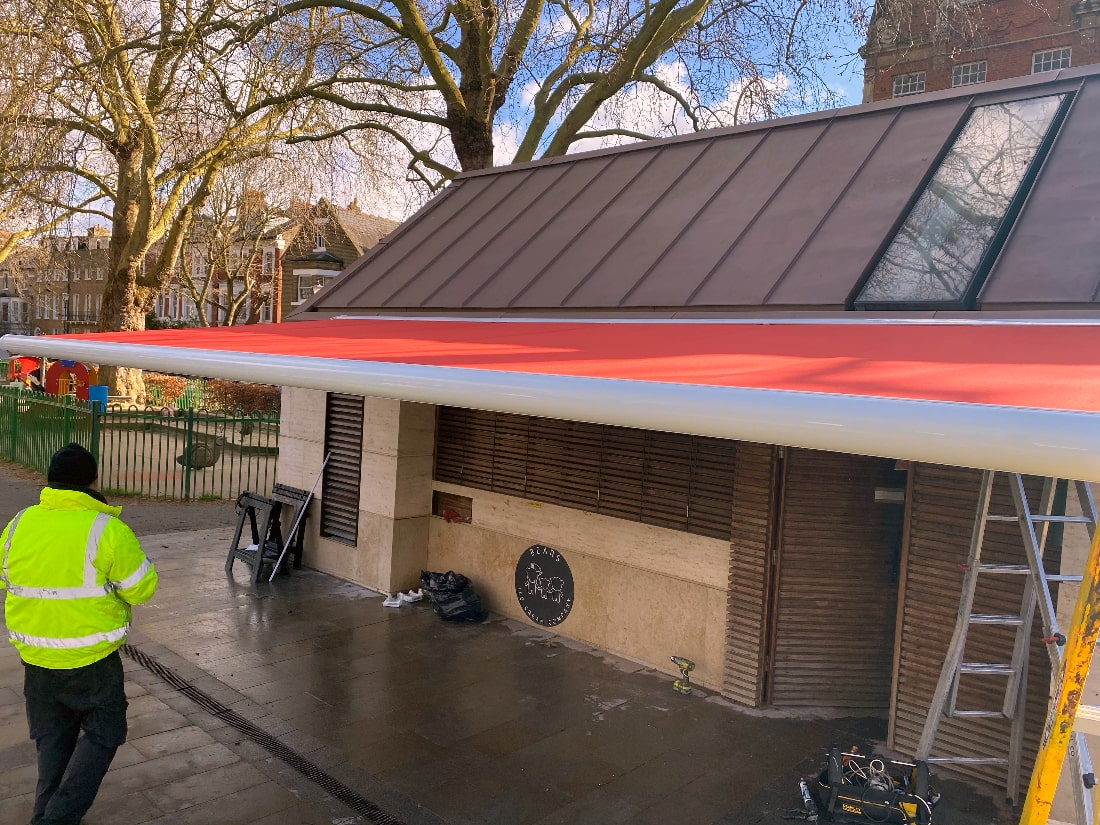 Markilux Commercial Awning London W6