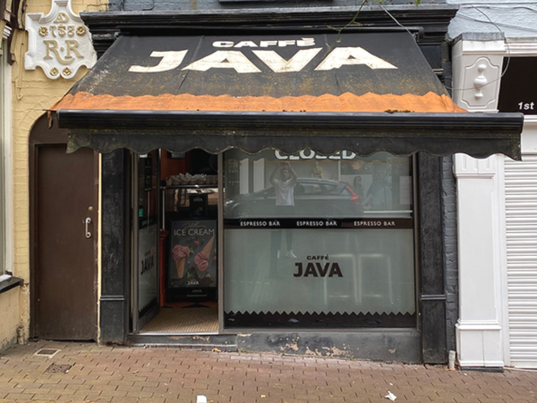 Caffe Java Before