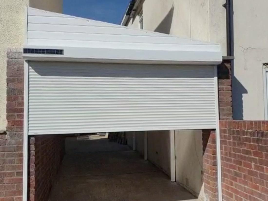 Solar Garage Door and Carport