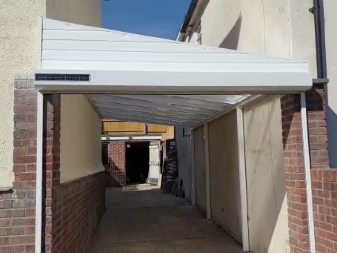 Solar Garage Door and Carport