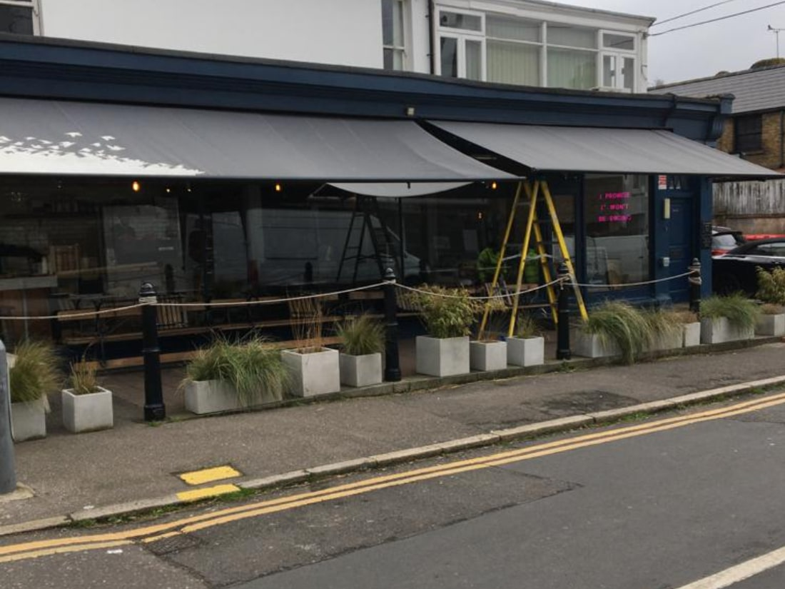 Weinor Topas Awning Leigh On Sea Essex Before