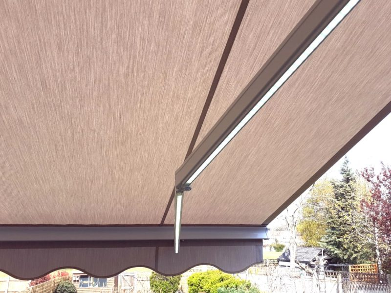Awning with LED Arms